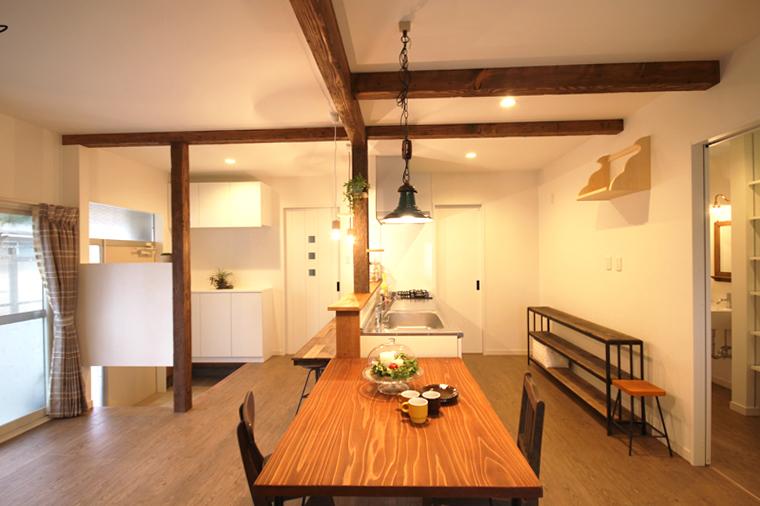 昔ながらの戸建の借家が、はじめての赤ちゃんと暮らすマイホームに!